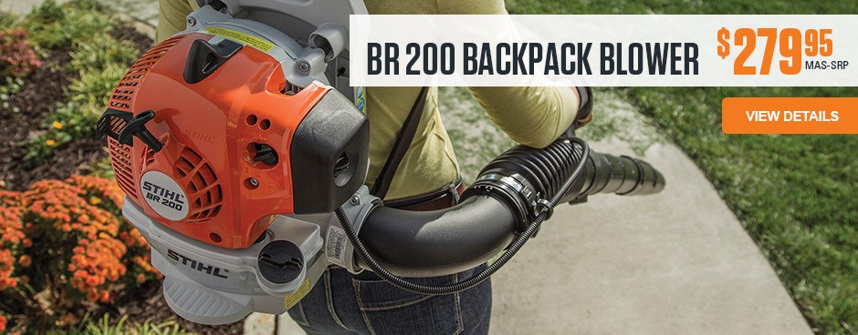 BR 200 Backpack Blower